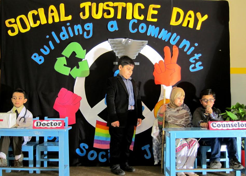 World Social Justice Day celebrated at SLS School