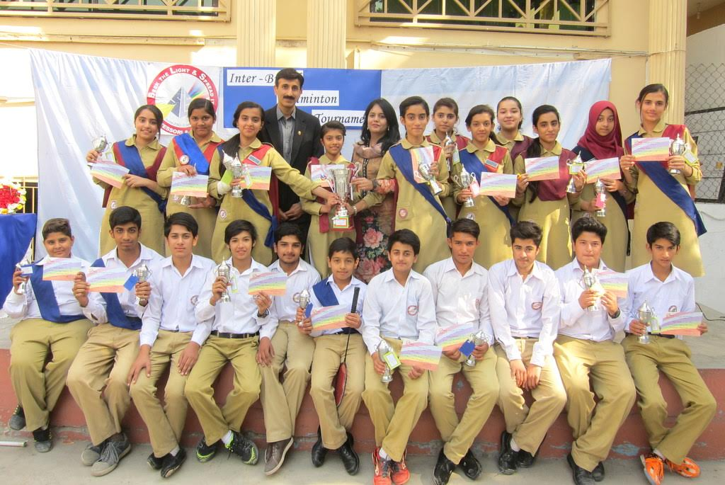 SLS School holds badminton tournament